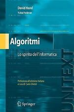 UNITEXT / Collana Di Informatica: Algoritmi by David Harel and Yishai Feldman...
