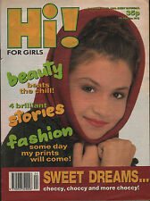 Hi! Magazine 19 January 1990  Curiosity Killed The Cat  Wendy James  Bobby Brown