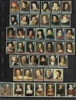 Royalty-Great Britain Kings & Queens complete set 2008/12 + extra set mnh-Art-