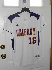 NWT U OF ALBANY GREAT DANES GAME ISSUED 2016 WOMENS SOFTBALL JERSEY SIZE M
