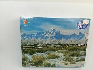 Vintage BIG BEN Puzzle Grand Teton, Wy 4962_4
