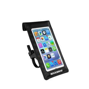 "ROCKBROS 6"" Premium Touchscreen Universal Handlebar Phone Mount"