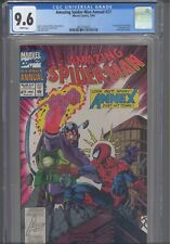 AMAZING SPIDER-MAN Annual #27 CGC 9.6 1993 Marvel 1st App Annex W/Cards & Bag