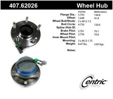 Wheel Bearing and Hub Assembly-Premium Hubs Front Centric 407.62026