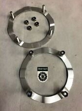 Bearmach Land Rover Vorderer Revolver Sicherungs- Ringe Plus Edelstahl Muttern