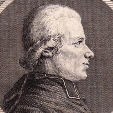 Portrait XVIIIe Jean Baptiste Bottex Prêtre Révolution Député de Bourg en Bresse