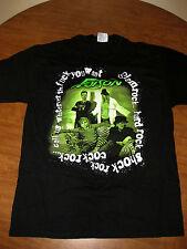POISON concert lrg T shirt pop-metal glam tour Cock Kick Ass Rock explicit 2001