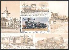Namibia 1994 Steam Engines/Locomotives/Trains/Rail/Railways/Transport f/s s5658