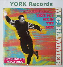 """MC HAMMER - They Put Me In The Mix - Ex Con 7"""" Single"""