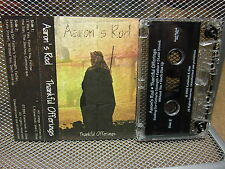 AARON'S ROD Thankful Offerings cassette tape 1996 female duo Toledo OHIO
