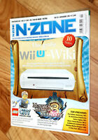 Nintendo N-Zone Magazin 2013 Monster Hunter 3 Professor Layton Wario Land Lego