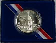 1986 S Mint Statue of Liberty Commemorative UNC Dollar Coin Silver