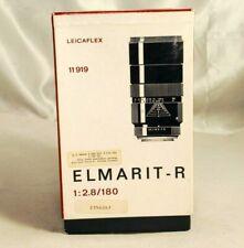 Leica Leitz Wetzlar Elmarit F2.8/ 180mm R Lens Empty Box Vintage S3101001 11919