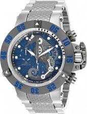 New Mens Invicta 26229 50mm Subaqua Seahorse Swiss Chronograph Bracelet Watch