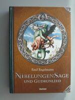Emil Engelmann Nibelungensage Y Gudrunlied - Mundial Sammleredition Banda Libro