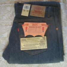 VINTAGE LEVI'S 1987 NWT 501XX SHRINK TO FIT MADE IN USA 36 X 34