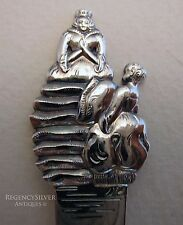 The Princess and the Pea-Danish Hans Andersen Fairy Tale Solid Silver Spoon COHR