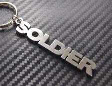 SOLDIER Army Marine Seaman Airman Sqaddie Gunner Hero Keyring Keychain Key Fob