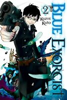 Blue Exorcist Vol. 2 Viz by Kazue Katō Manga Book in English