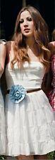 DENNY ROSE ABITO vestito art. 3385 raro con cintura fiore tg. M