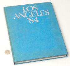 (PRL) LIBRO COLLEZIONE CONI OLIMPIADI LOS ANGELES '84 BOOK SPORT JEUX OLYMPIQUE