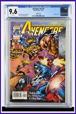 Avengers #v2 #1 CGC Graded 9.6 Marvel November 1996 White Pages Comic Book.
