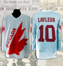 Guy Lafleur Canada Cup 1981 Team Canada White Replica Jersey Sizes S,L,M, XL,XXL