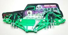 Grave Digger RC Monster Jam Crawler Traxxas Spin Master 1:10 Scale Hardbody