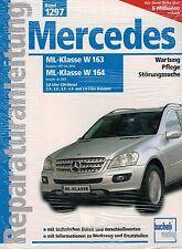 Mercedes ML w163 97-04 w164 à partir de 2005 réparation Instructions Atelier Manuel bv1297