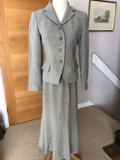 Precis Size 10/8 Skirt and Trouser Suit Light Taupe