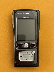 Mint Nokia N91 - 8GB - Black (Unlocked) Smartphone