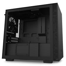 NZXT H210 Black ATX Mini-ITX Case Tempered Glass Desktop Computer Case