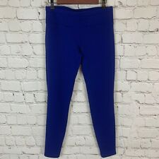 Athleta Bright Blue Polartec Fleece Lined Leggings Size Small Womens Athletic