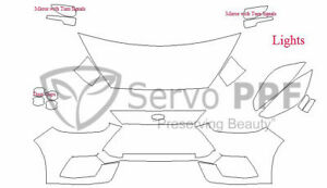PreCut Suntek PPF-Ultra Clear Bra Film for 16+ Ford Focus RS