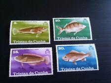 TRISTAN DA CUNHA 1978 SG 246-249 FISH  MNH