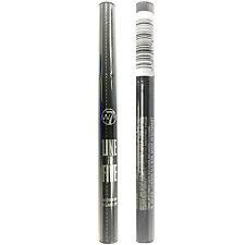 W7 Make Up Automatic Extra Fine Eye Liner Felt Tip Eyeliner Pen Black Waterproof