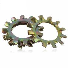 Color Zinc Steel - External&Internal Tooth Lock Washers M3 M4 M5 M6 M8 M10 M12