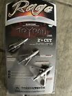 """3 Rage R35100 Trypan Broadhead Slipcam - Rear Deploying 2"""" Cut Archery Hunting"""