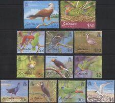 Solomon Islands 2001 Birds/Raptor/Parrots/Kingfisher/Dove/Nature 12v set  n14287