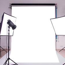 White Wall Vinyl Cloth Photography Backdrop Photo Background Studio Props3x5ftUK