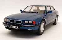 KK Model 1/18 Scale Diecast 180362 - 1994 BMW 7 Series 740I E38 - Blue