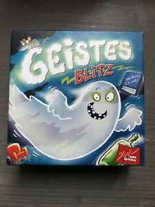 GeistesBlitz. Reaktionsspiel für 2 - 8 Spieler. Ab 8 Jahren