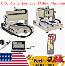 Usb 6040 3 Axis Cnc Router Engraver Milling Drilling Machine 1500w 3dcontroller