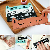 Sweet Color Kawaii Measuring Ruler Drawing Supplies Wooden Ruler Stationery