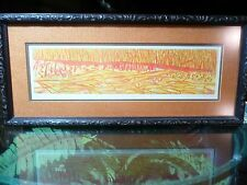 """Ruth Leaf, Artists Proof """"CRYSTALINE"""" Signed Etching"""