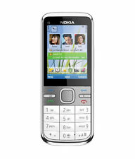 Nokia C5-00 White With Excellent Battery & Charger