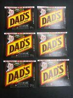 6 Vintage Dad's Root Beer Labels Minneapolis, Minnesota 1970's Nos Unused