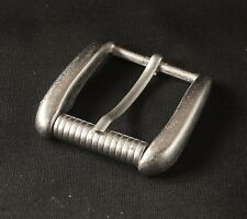 """Pin Roller Belt Buckle(#160A) 1 1/4"""" (30mm) Metal Gray Color New"""