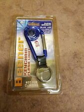 New Beener keychain laser super bright LED flashlight  ass.. Color red blue silv