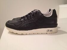 "Asics Black Leather GT-2 ""Grand Opening"" KITH Ronnie Fieg DS H43GK US10 New Rare"